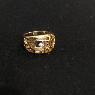 小寺智子 セントラルパーク ダイヤ0.05ct 18金/プラチナ900 リング(リング(指輪))