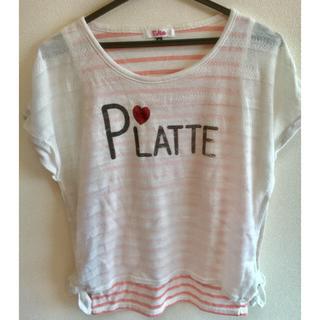 ピンクラテ(PINK-latte)のPINK-latte Tシャツ(Tシャツ/カットソー)