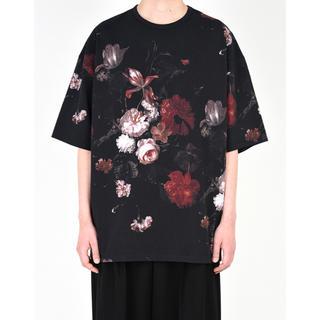 ラッドミュージシャン(LAD MUSICIAN)のlad musician  18SS 花柄 スーパービッグT 新品未使用 赤(Tシャツ/カットソー(半袖/袖なし))