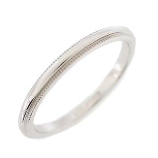 ティファニー(Tiffany & Co.)の【未使用】ティファニー リング 指輪 ミルグレイン バンドリング Z0855(リング(指輪))