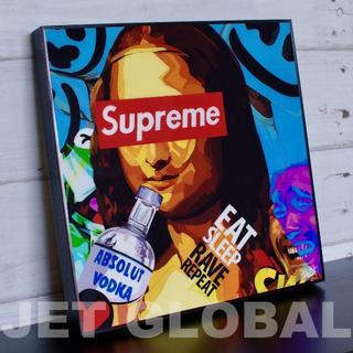 シュプリーム(Supreme)の★ 今話題のポップアートパネル ★ モナリザ シュプリーム[SUPREME](フォトフレーム)