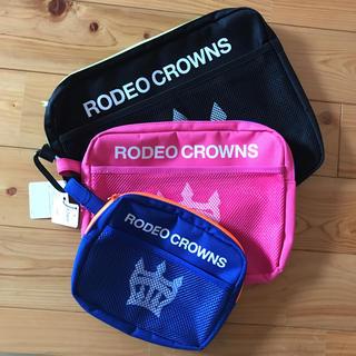 ロデオクラウンズワイドボウル(RODEO CROWNS WIDE BOWL)のRCWB ノベポーチ 3点セット(ポーチ)