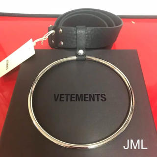 VETEMENTS oversized ring belt(ベルト)