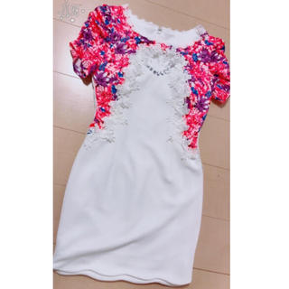 デイジーストア(dazzy store)のDazzy store ドレス 花柄(ミニドレス)
