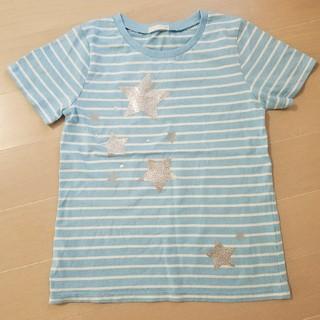 GU - キッズ👧 Tシャツ スターsize140