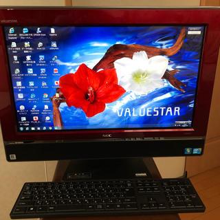 エヌイーシー(NEC)の向日葵様専用 NEC 一体型パソコン PC-VW670BS6R ☆お値下げ中(デスクトップ型PC)