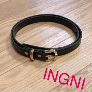 イング(INGNI)のINGNI 黒ベルト(ベルト)