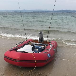 アキレスゴムボート+2馬力船外機セット