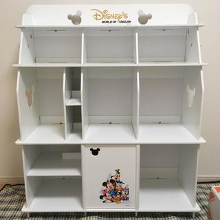 ディズニー(Disney)のドナルド様専用!DWE 収納棚 ホワイト/新品(棚/ラック/タンス)