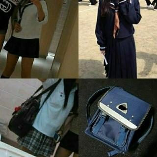学校 制服 鞄 指定 セーラー服 コスプレ 上履き シューズ 可愛い ギャル 鞄(衣装一式)