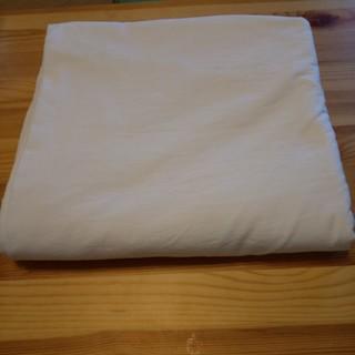 ムジルシリョウヒン(MUJI (無印良品))の無印良品 敷ふとんカバー シングルサイズ 綿100%(シーツ/カバー)