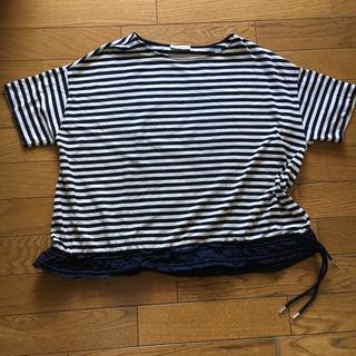 モンクレール(MONCLER)のモンクレール  レディース ボーダー Tシャツ(Tシャツ(半袖/袖なし))