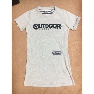 アウトドアプロダクツ(OUTDOOR PRODUCTS)の女の子 カットソーワンピース 140cm(ワンピース)