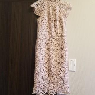 チチロンドン(Chi Chi London)のワンピース ドレス 膝丈ワンピース(ミディアムドレス)
