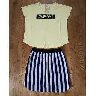 キューティーブロンド(Cutie Blonde)のTシャツ+スカートset(セット/コーデ)