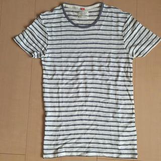 ザラ(ZARA)のZARA MAN リネンTシャツ(Tシャツ/カットソー(半袖/袖なし))