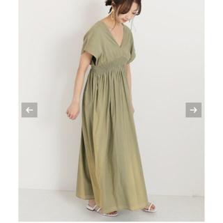 ノーブル(Noble)のNOBLE マリハ ワンピース 夏の光のドレス(ロングワンピース/マキシワンピース)