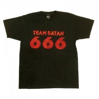 シックスシックスシックス(666)のTEAM SATAN 666 skeatebording Tシャツ(Tシャツ/カットソー(半袖/袖なし))