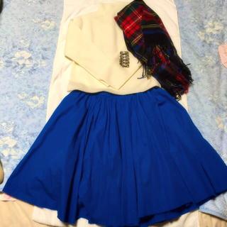 トゥモローランド(TOMORROWLAND)の試着のみ美品♪マカフィースカート♡(ひざ丈スカート)