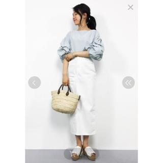 エヌナチュラルビューティーベーシック(N.Natural beauty basic)のN.デニムスカート♡Natural Beauty  Basic(ロングスカート)