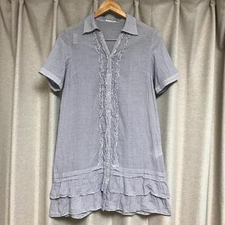 アーヴェヴェ(a.v.v)のa.v.v  チュニック  ミニワンピ  体型カバー  マタニティ  授乳服 (チュニック)