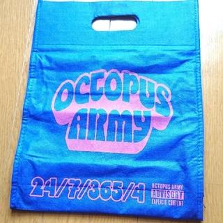 オクトパスアーミー(OCTOPUS ARMY)のオクトパスアーミー octopus army ショップバッグ ショッパー 袋(ショップ袋)