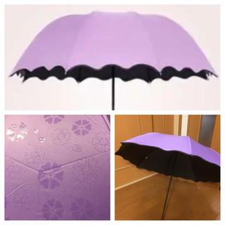 日傘  晴雨兼用折りたたみ日傘  折りたたみ傘(傘)