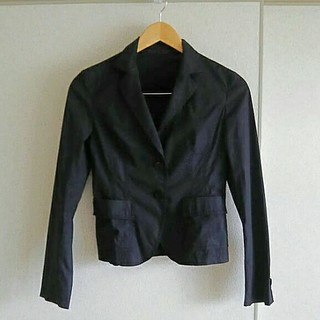 アイシービー(ICB)のICB(アイシービー) サマージャケット黒色9号(テーラードジャケット)