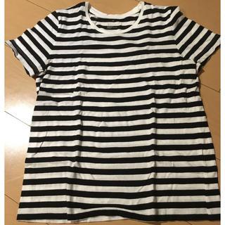 MUJI (無印良品) - 無印良品 ボーダーTシャツ