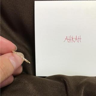 アーカー(AHKAH)のAHKAH ドゥーズブリエリング(リング(指輪))