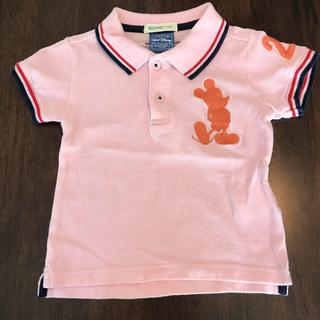 ビームス(BEAMS)の【BEAMS mini】ミッキーポロシャツ☆90(Tシャツ/カットソー)