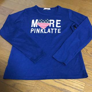 ピンクラテ(PINK-latte)のピンクラテ ロンT 150cm(Tシャツ/カットソー)
