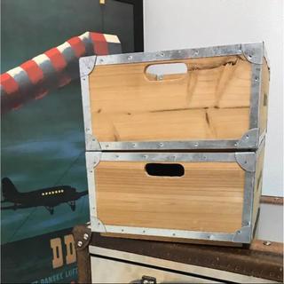 アクタス(ACTUS)の木箱☆セット(ケース/ボックス)