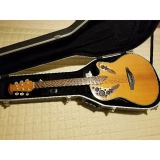 ギブソン(Gibson)のエレアコ Ovation Pinnacle Deluxe CU247-VA(アコースティックギター)