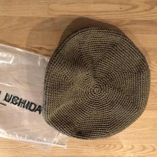 フミカウチダ ベレー カーキ(ハンチング/ベレー帽)