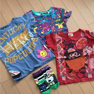 JAM - Tシャツ 3枚セット Jam グラグラ 靴下 100 110
