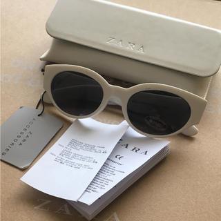 ザラ(ZARA)の完売品 ザラ レトロ フューチャーサングラス デザインフレーム モード KBF(サングラス/メガネ)