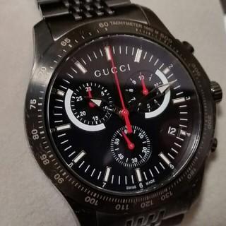 グッチ(Gucci)の【新品未使用】腕時計 GUCCI Gタイムレス ブラック(腕時計(アナログ))