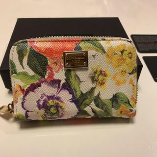 ドルチェアンドガッバーナ(DOLCE&GABBANA)のりんこ様専用 Dolce&Gabbana コインケース 美品 花柄 ミニ財布(コインケース)
