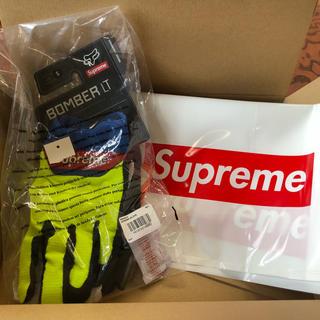 シュプリーム(Supreme)のSupreme Fox Racing Gloves マルチ 手袋 S バイク(手袋)