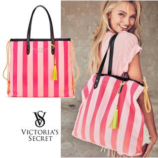 ヴィクトリアズシークレット(Victoria's Secret)の2018 New バックパック & 限定ストライプ トートバッグ ✨ 新品(その他)
