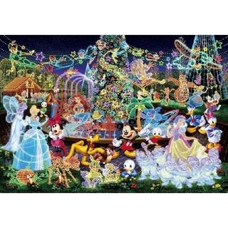 ディズニー(Disney)のジグソーパズル ディズニー マジカルイルミネーション 1000ピース(その他)