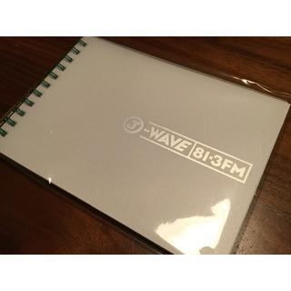 <非売品>81.3 J-WAVE オリジナルノートとテープ(ノート/メモ帳/ふせん)
