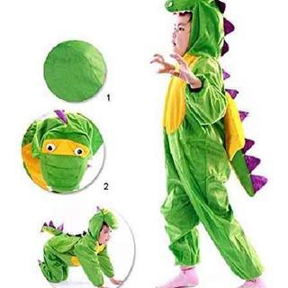 かわいい 恐竜 着ぐるみ キッズ コスチューム イベント 用 なりきり コスプレ(衣装一式)