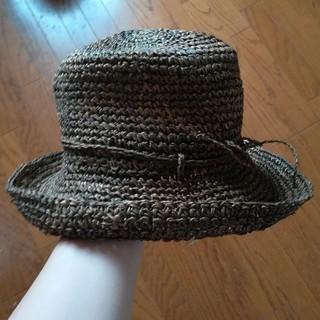ムジルシリョウヒン(MUJI (無印良品))の無印良品 フラットハット 麦わら帽子 カンピ草 (麦わら帽子/ストローハット)
