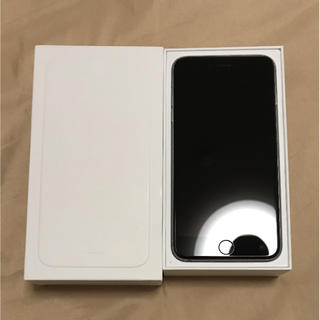 アップル(Apple)の【緊急値下げ】iPhone 6 Plus Space Gray 128 GB(スマートフォン本体)