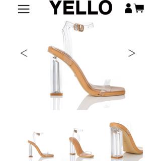 イエローブーツ(Yellow boots)の YELLO クリアサンダル(サンダル)