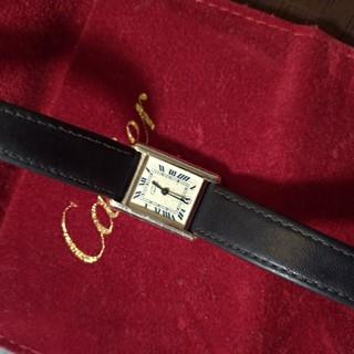 カルティエ(Cartier)のカルティエ マストタンク シルバー(腕時計)