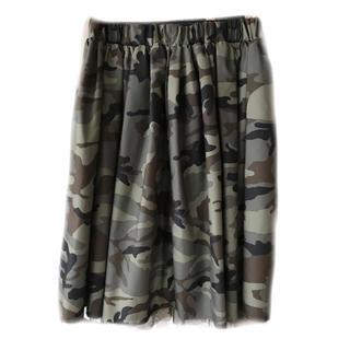 しまむら - 迷彩 膝丈スカート