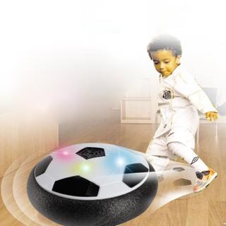 エアーサッカー 室内 親子ゲーム LEDライト (スポーツ)